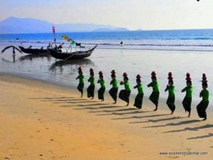 water dance myanmar